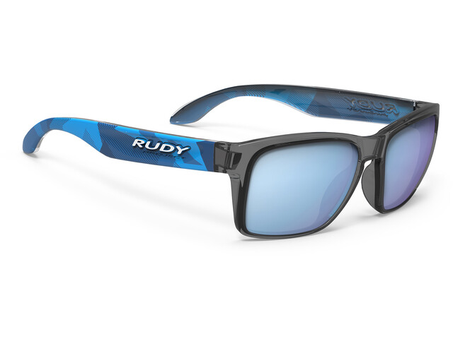 Rudy Project Spinhawk Slim Lunettes, neo camo crystal blue - rp optics multilaser blue